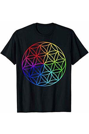 Sacred Geometry Yoga Clothing & Zen Gifts Sacred Geometry Seed Of Life Zen Yoga T-Shirt