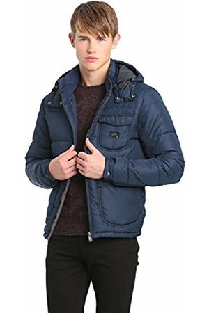 Lee Men's Loco Puffa Slim Fit Quilted Long Sve Jacket
