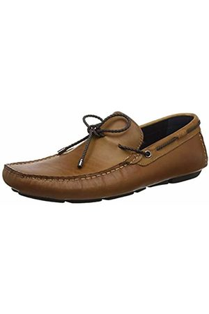 Dune Men's Brandstable Loafers, Tan-Leather