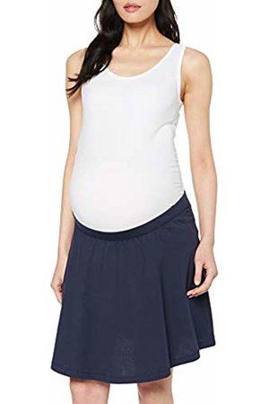 Mama Licious Women's Mltina Jersey Skater Skirt A. O. Navy Blazer