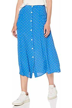 Miss Selfridge Women's Spotted Pocket Midi A-Line Skirt 110