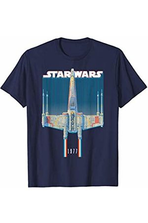 STAR WARS X-Wing Starfighter Americana Stripes 1977 T-Shirt