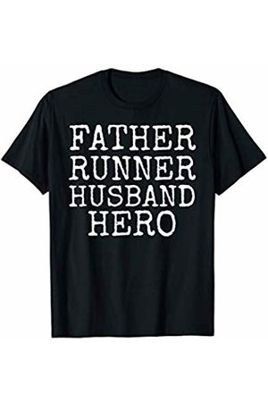Father's Day Gift Design Studio Fitness Running Gift for Dads Father Runner Husband Hero T-Shirt