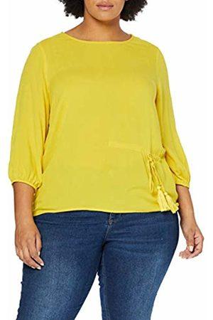 JUNAROSE Women's Jrtaly 3/4 Sleeve Blouse-K Vest, Sulphur