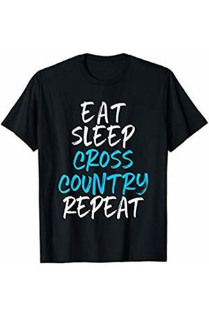 Eat Sleep Cross Country Repeat Gift Tees Eat Sleep Cross Country Repeat Runner Gift T-Shirt