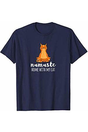 Yoga Shirts by TC Yoga Cat Pose Namaste Savasana Gift For Yogi Cat Fans T-Shirt