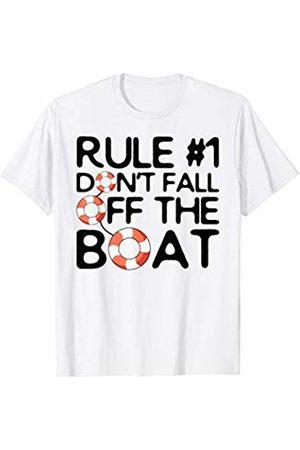 3c418b22 Cruising Joke Wear Funny Cruise Ship Rule #1 Don't Fall Off the Boat