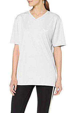 Trigema Women's Damen V-Shirt Coolmax T, (weiß 001)