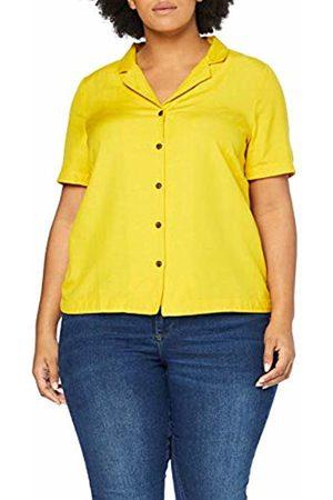 JUNAROSE Women's Jrlobe 2/4 Sleeve Shirt-K Vest, Sulphur