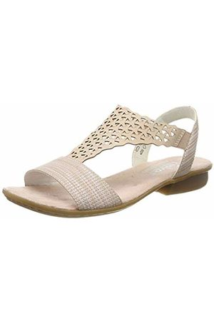 Rieker Women's V0466-31 Closed Toe Sandals