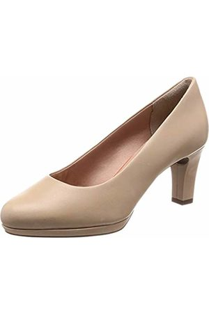 Rockport Women's Total Motion Leah Pump Closed Toe Heels, (Neutral 004)