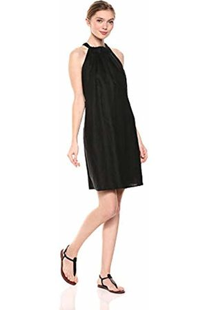 28 Palms 100% Linen Halter Shift Dress Casual
