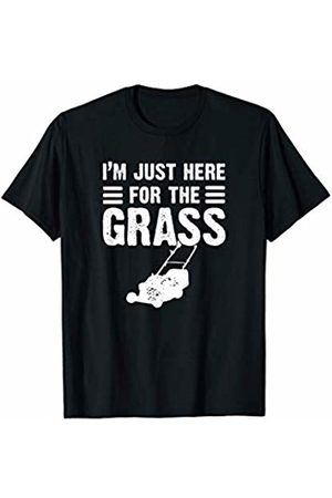 Goodtogotees I'm just here for the grass T-Shirt