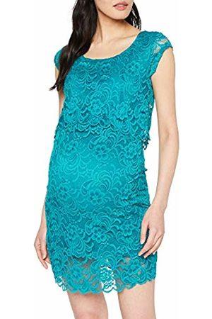 Mama Licious Women's Mlmivane June Cap Lace Dress Combi Tropical