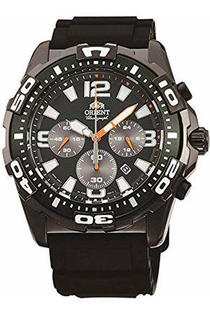 Orient Men's Chronograph Quartz Watch with Rubber Strap FTW05003F0