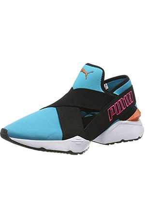 Puma Women's Muse EOS 2 TZ WN's Low-Top Sneakers, (Caribbean Sea )