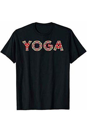 Color Gangster YOGA with beautiful Mandala Pattern T-Shirt
