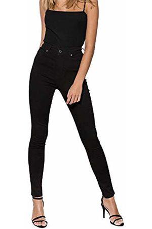 Ivyrevel Women's High Waist Twill Pants Skinny Jeans, ( 001)