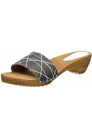 Sanita Women's Arense Sandal Mules (Antracite 56) 38 EU