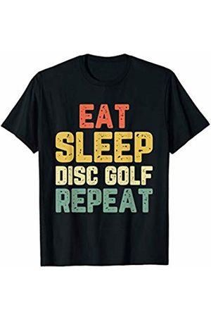 Eat Sleep Disc Golf Repeat Tees Eat Sleep Disc Golf Repeat Vintage Gift T-Shirt