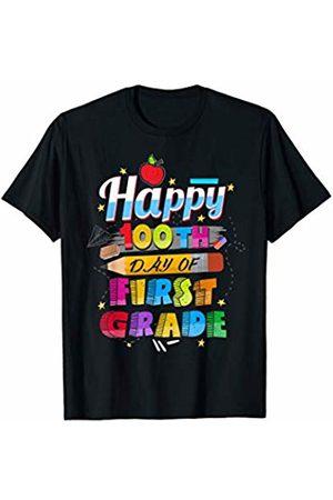 Modern Tees kids Tshirts 100th Day of School Shirt For Teachers First Grade Tshirt T-Shirt