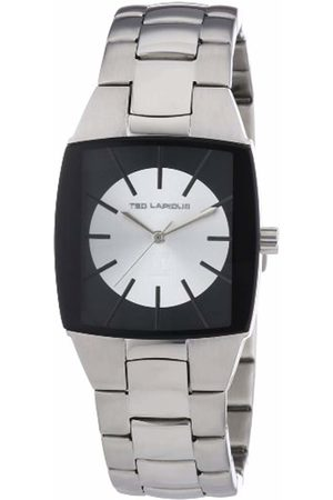 Ted Lapidus Men's Watch with LCD Analogue Dial and Stainless Steel Bracelet 5104608