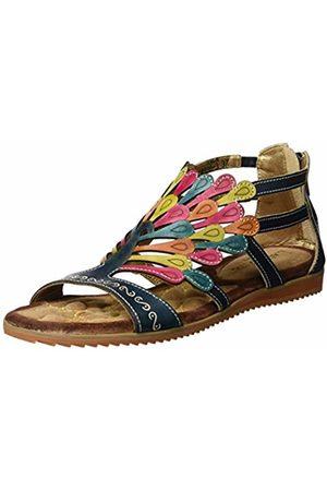 LAURA VITA Women's's VACA Sandals, Jeans