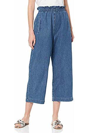 Miss Selfridge Women's Paperbag Elastic Waist Crop Trousers 110