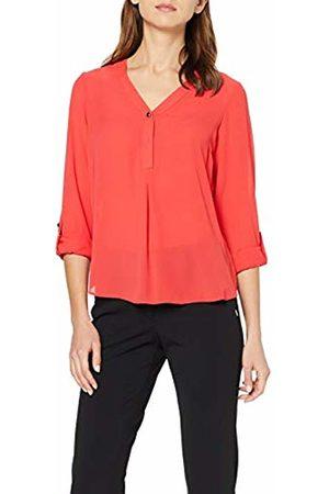 Dorothy Perkins Women's ONE Button ROLL Sleeve T-Shirt (Fuschia 131)
