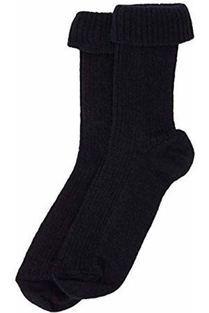 Melton Boys' Basic Socken Wolle Breit Gerippt Socks