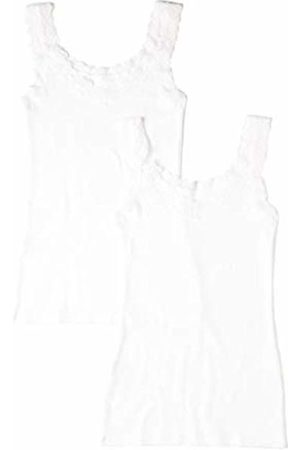 IRIS & LILLY Women's Basic Stretch Vest, Pack of 2