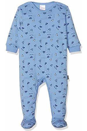 Schiesser Boys' Polizei Baby Anzug Mit Fuß Pyjama Set, ( 800)