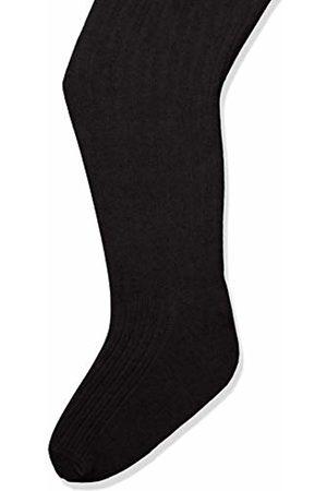 Melton Girls' Basic Strumpfhose Ripp Tights, (Dark Melange 180)
