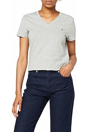 Tommy Hilfiger Women's Heritage V-nk Tee T-Shirt