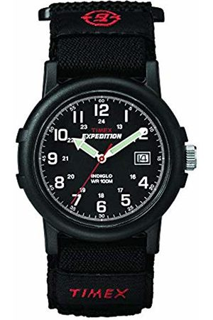 Timex Men's T40011 Quartz Watch with Dial Analogue Display and Fast Wrap Strap