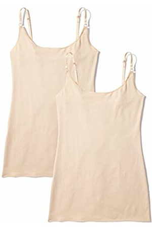 IRIS & LILLY Women's Strappy Vest, Pack of 2