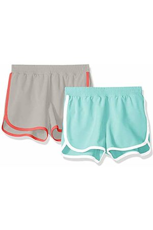 Amazon 2-Pack Active Running Short Aqua/