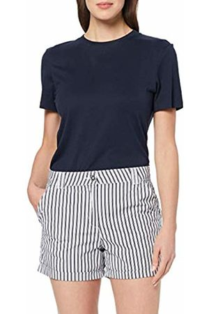 Dorothy Perkins Women's Stripe POPLIN Short (Navy 230)