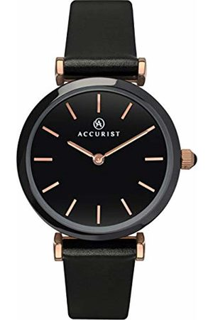 Accurist Women Watches - Womens Analogue Classic Quartz Watch with Leather Strap 8181