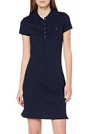 Tommy Hilfiger Women's Heritage Slim Polo Dress (Midnight 403)