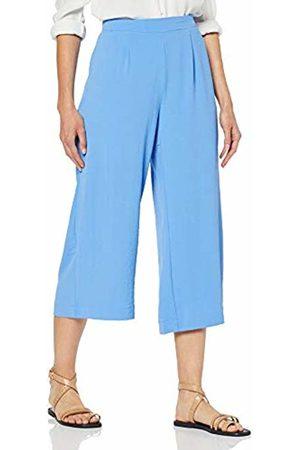 Vero Moda Women's Vmannie Nw Culotte Pant WVN Trouser, Granada Sky