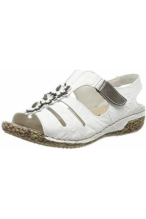 Rieker Women's V7273-81 Closed Toe Sandals 6 UK