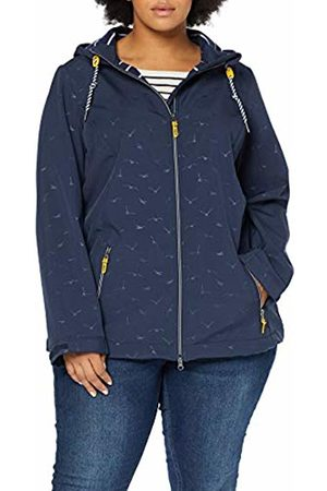 Ulla Popken Women's's Softshelljacke Jacket (Mood Indigo 69) 28 (Size: 54)
