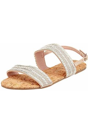 Dorothy Perkins Women's W: Funk Double Strap Embellished Sandal Ankle ( 600)