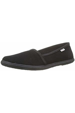 victoria Unisex Adults' Camping Lona Soft Trainers, (Negro 10)