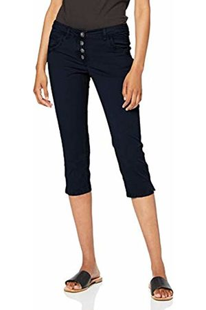 Tom Tailor Women's Tom Tailor Tapered Relaxed Trouser, Sky Captain 10668
