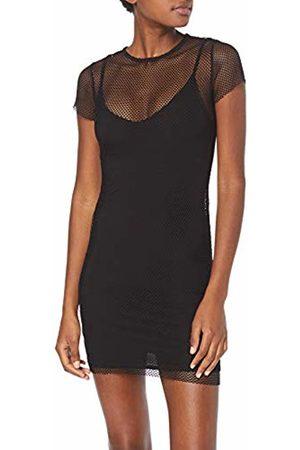 New Look Women's Fishnet Mini Dress