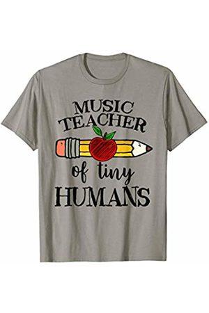 a70f87d5 Music Teacher of Tiny Humans Back To School Music Director T-Shirt