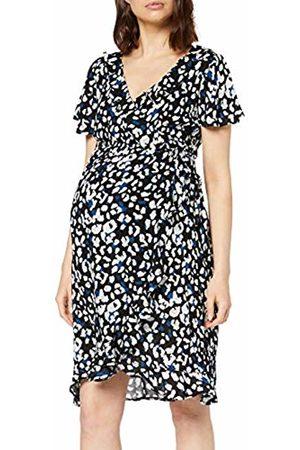 Supermom Women's Dress Ss Wrap Nurs