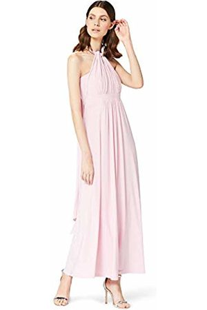 TRUTH & FABLE Women's 13832A Short Sleeve Maxi Dress